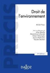 Droit de l'environnement / Michel Prieur,... |