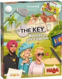 The key : Meurtre au golf d'Oakdale |