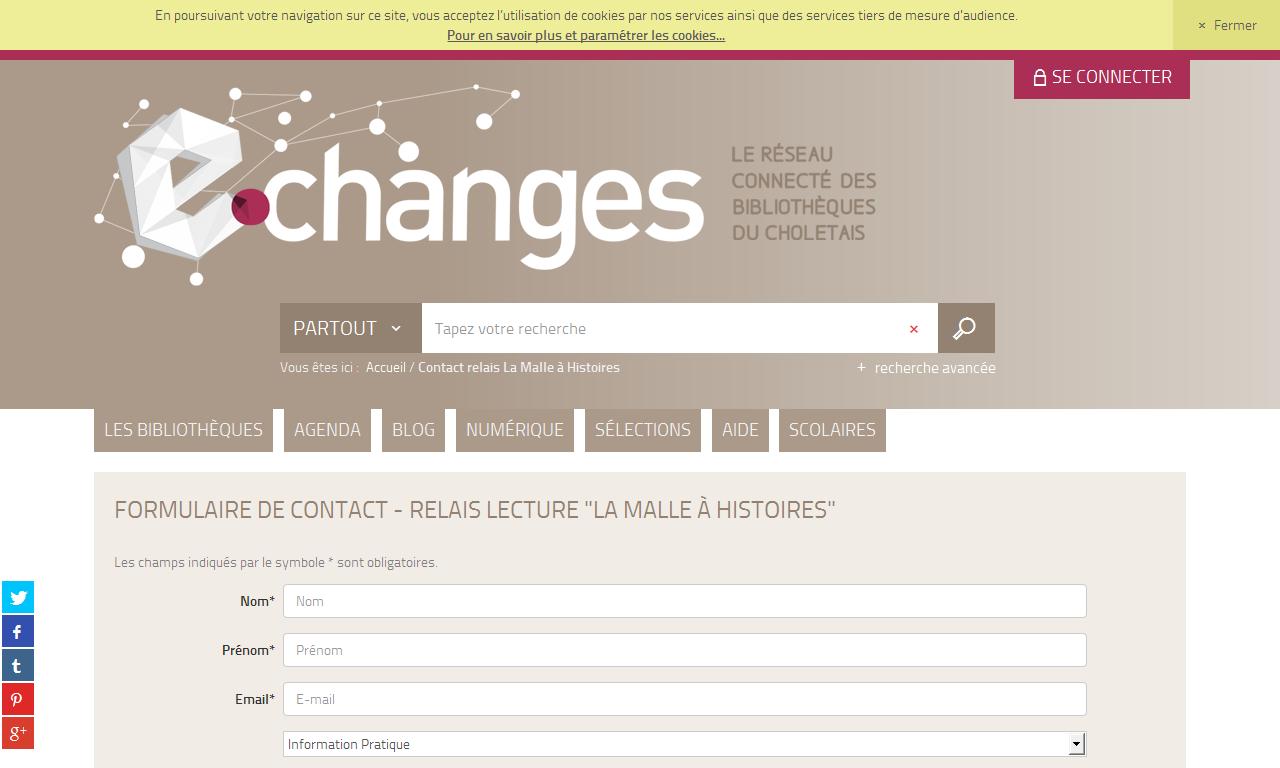 Contact relais La Malle à Histoires |